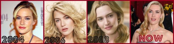 L'évolution de Kate Winslet dans le cinéma !Kate Elizabeth Winslet, née le 5 octobre 1975 à Reading, Royaume-Uni, est une actrice anglaise. Elle obtient l'oscar de la meilleure actrice en février 2009 pour son rôle dans le film Le Liseur. Elle pose pour les publicités de deux marques de luxe , les cosmétiques Lancôme et les montres Longines.
