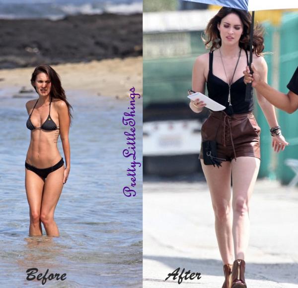 Prise de poids de Megan Fox