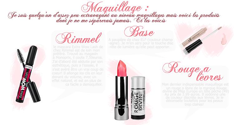 Rubrique Mode & Beauté : Présentation - Marie