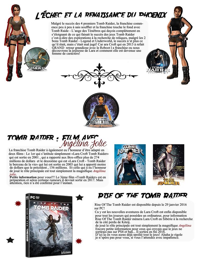 Rubrique Jeux vidéo - Tomb Raider - Nuno
