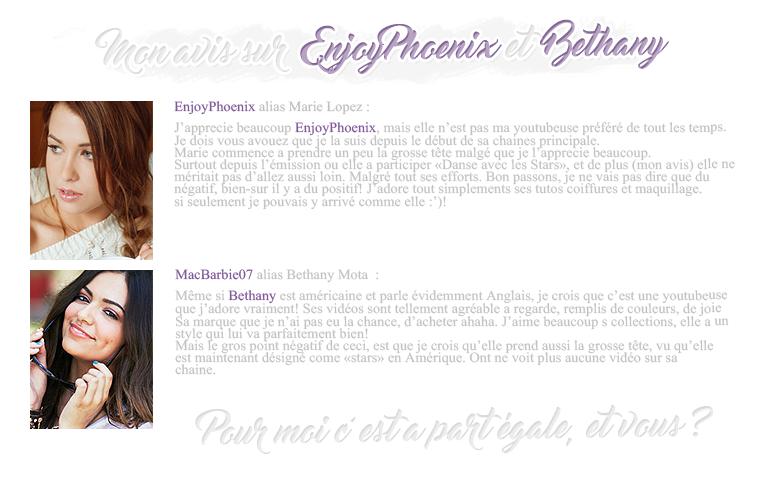 Rubrique People - Fiona - Les stars 2 montantes de Youtube!