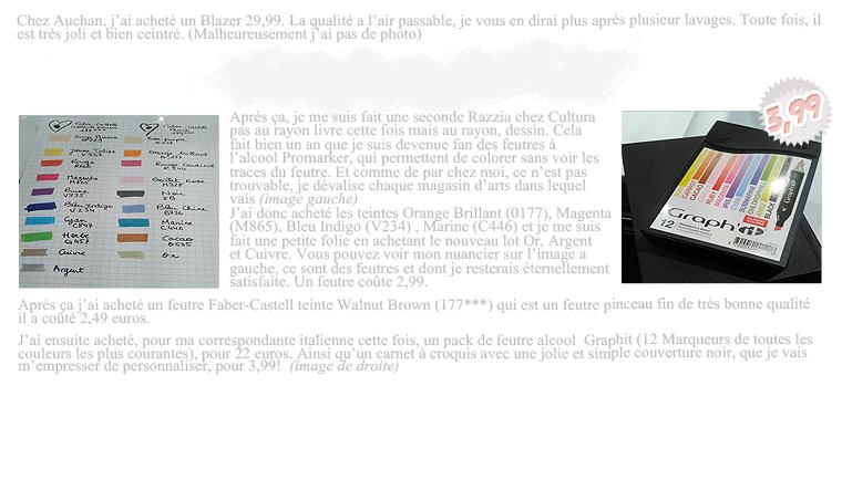 Rubrique Mode & Beauté : Haul Soldes d'Hiver - Marie