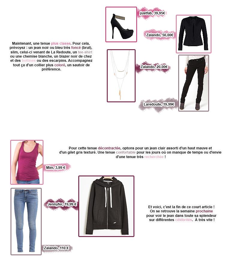 Rubrique Mode & Beauté : Série Jeans 2 - Marie