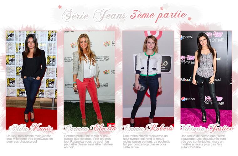 Rubrique Mode & Beauté : Série Jeans 3 - Marie