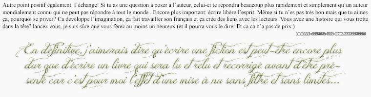 Rubrique livre: Les fictions et fanfictions - Helena