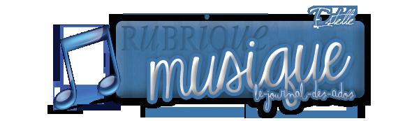 Rubrique Musique: les sorties de la semaine.