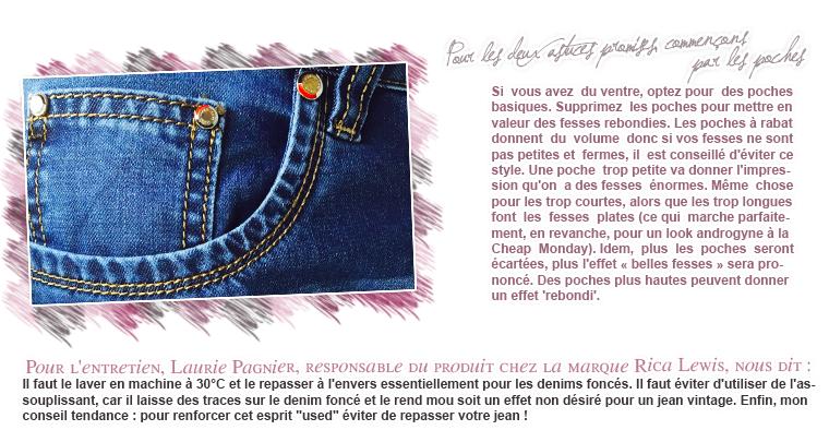 Rubrique Mode & Beauté : Série Jeans 4 - Marie