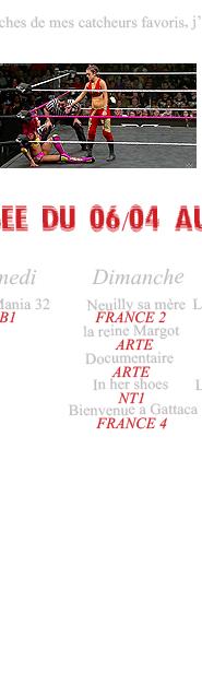 Rubrique Cinéma:  Le catch -Camélia