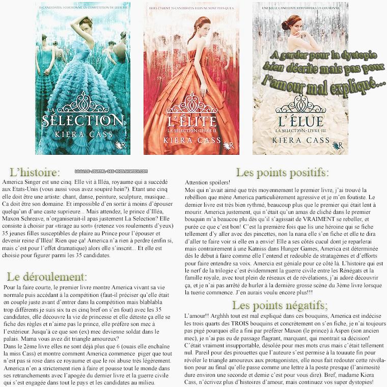 Rubrique livre: J'ai testé pour vous: La Selection par Kiera Cass  - Helena