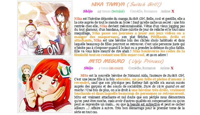 Rubrique Anime/Mangas nº 03 : #10 héroïnes qui tuent les clichés féminins.