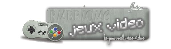 Rubrique Jeux vidéo: Alan Wake -Jason