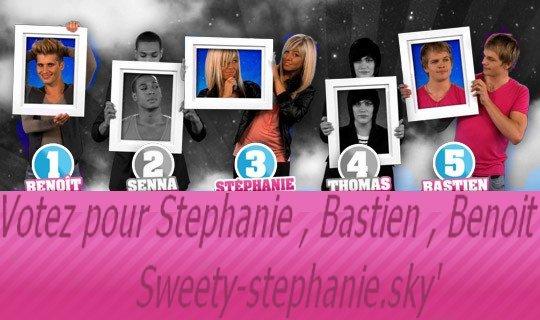 Stephanie nominée cette semaine