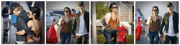 Vanessa et Austin se trouvant à Venice Beach le 26 novembre 2011 ♥.