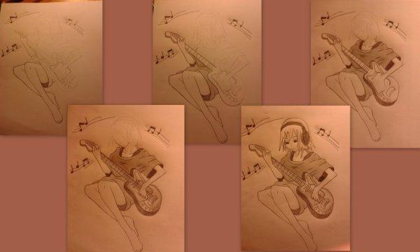 Montage de ma guitariste :)