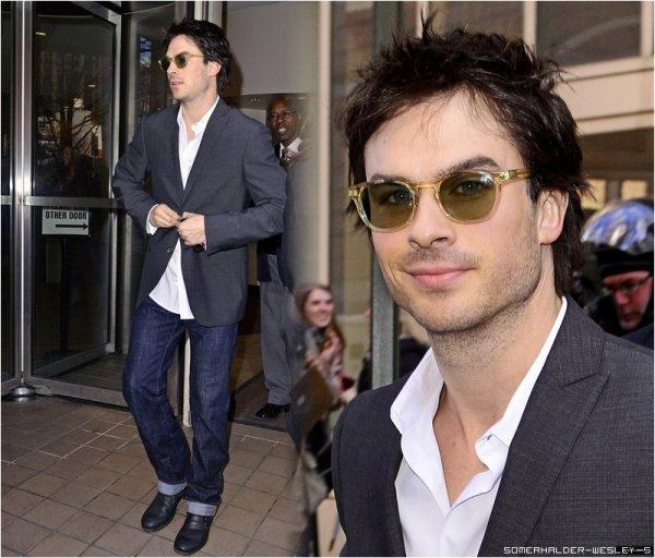 Il y a quelques jours, Ian était présent a New York
