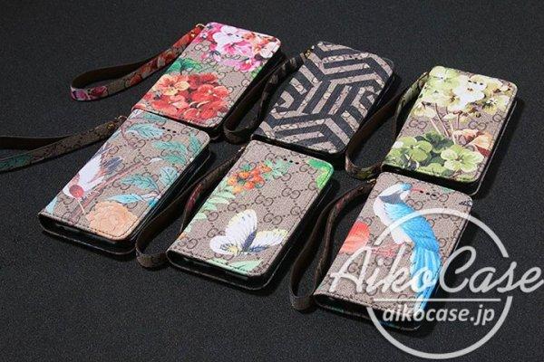 new style c8984 e7b61 グッチ iphone7ケース 手帳 花柄 iphone7plus ケース GG ...