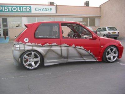 voiture tunée
