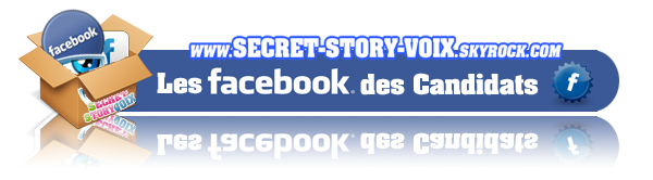 Les Pages Facebook des Candidats de Secret Story 5