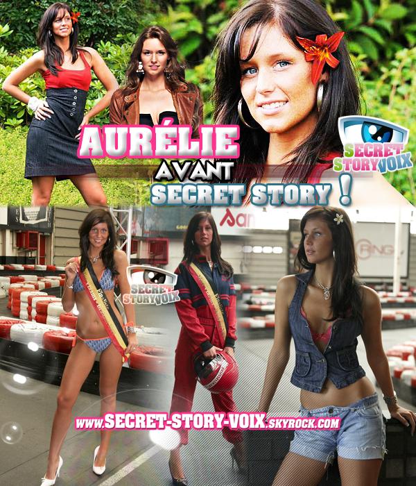 Aurélie : Ses photos avant l'émission !