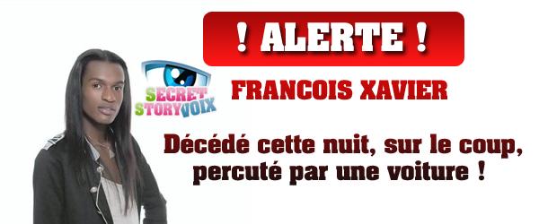 François Xavier de Secret Story 3 serait décédé dans un accident de voiture ( thèse du suicide)