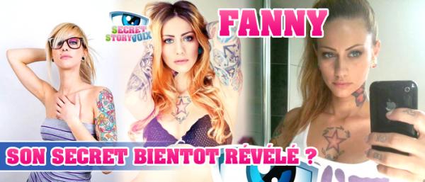 Un secret difficile à garder pour Fanny !