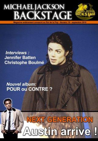 Le nouveau magazine Michael Jackson Backstage N°19 vient de sortir...