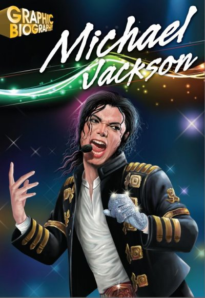 BD anglaise: Michael Jackson Graphic Biography...