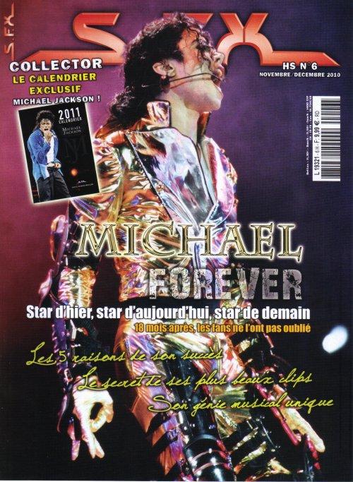 Un calendrier Michael Jackson chez votre marchand de journaux...