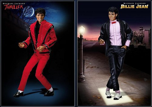 Les figurines collector de Michael Jackson arrivent en France...