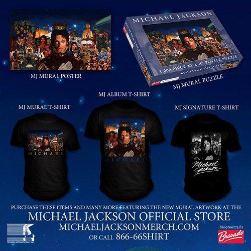 "Merchandising ""MICHAEL""..."