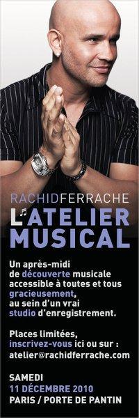 Atelier musical et étude de la voix de Michael Jackson avec Rachid Ferrache...