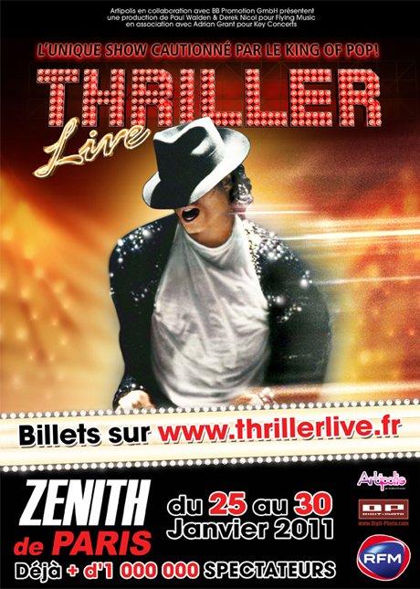 THRILLER LIVE vous invite...