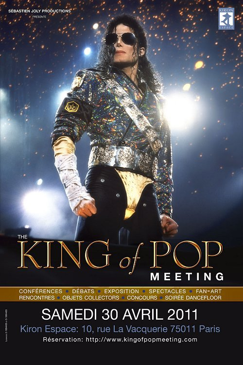 France: The King Of Pop Meeting le 30 Avril 2011 à Paris...