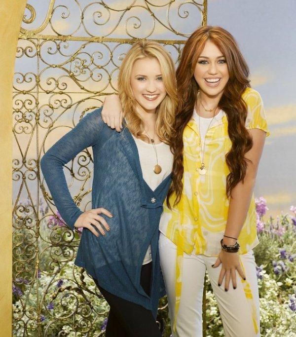 Miley Stewart et Lilly Truscot