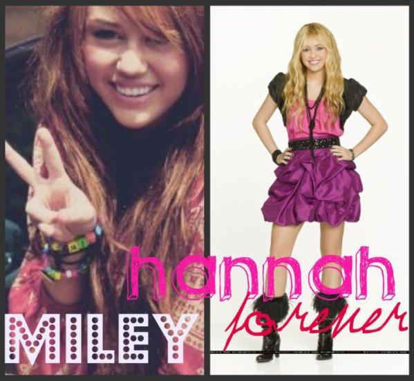 Miley Cyrus <3 Hannah Montana