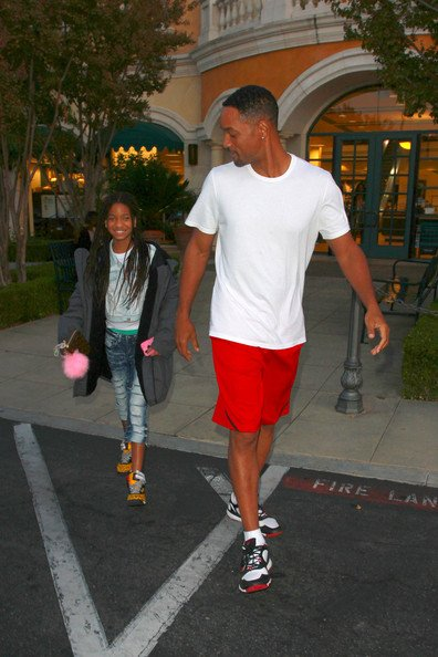 Willow Smith et will smith ( son pere )