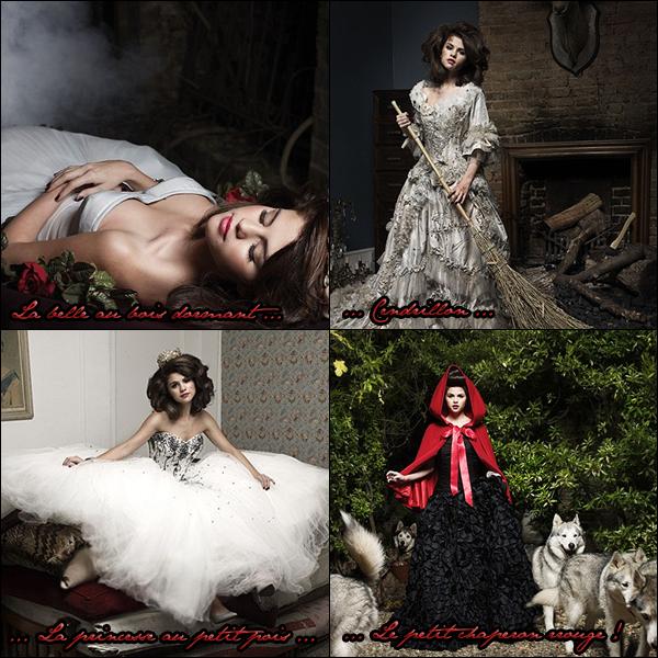 Découvrez un magnifique photoshoot de Selena inspiré des contes enfantins de princesses, votre avis ?