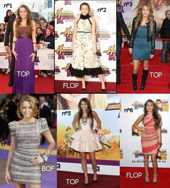 Top/Flop Miley Cyrus
