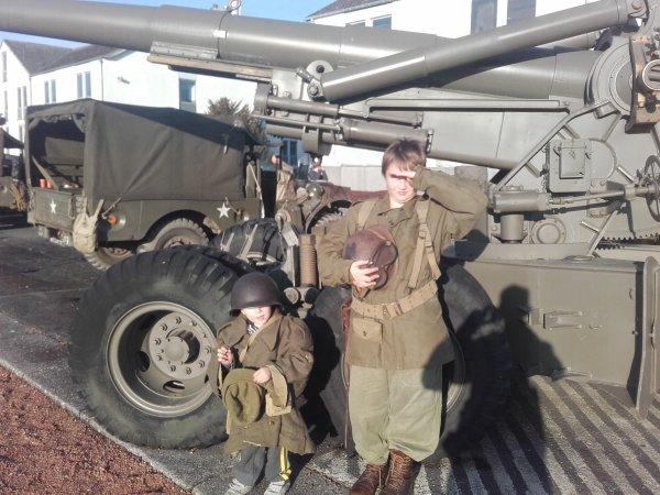 Mon fils le plus petit a 3 ans a Bastogne