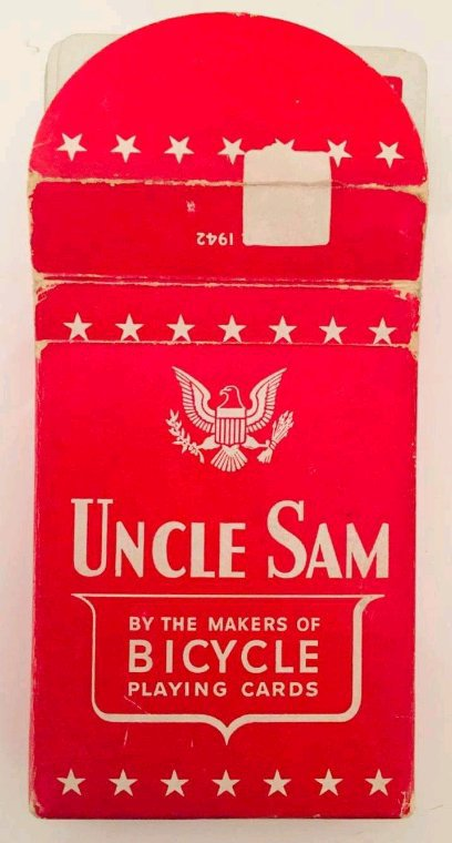 Jeux de carte Uncle Sam 1942