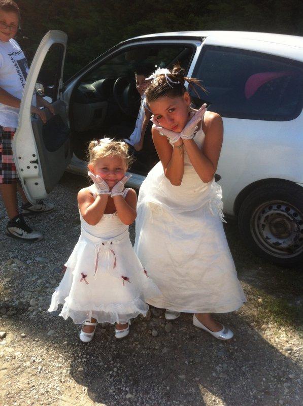 Mais deux fille mais princesse pour le mariage <3