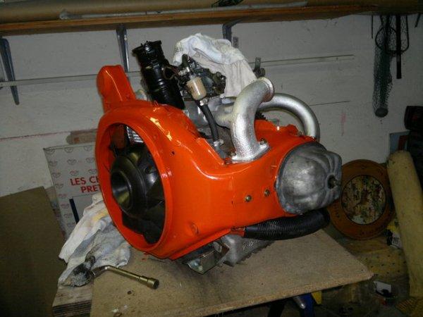 une autre photo du moteur