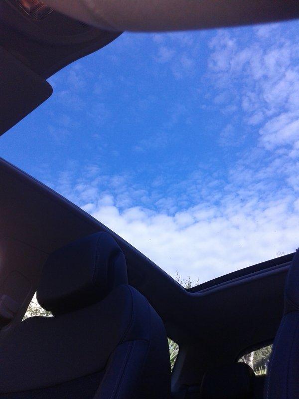 j'ai testé une nouvelle voiture