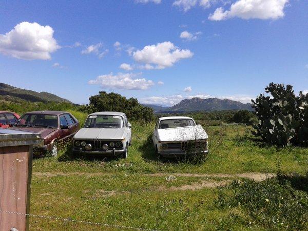 les quelques voitures appercues lors de mes vacances ...
