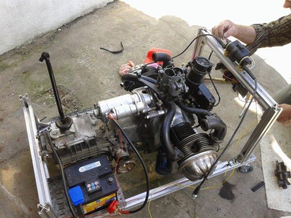 essai du moteur de BZZ BZZ