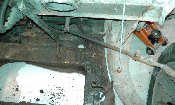 démontage du maitre cylindre