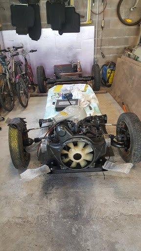 Montage du moteur