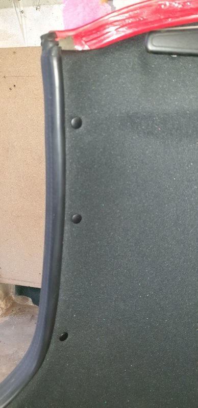 remontage de la garniture du hard top