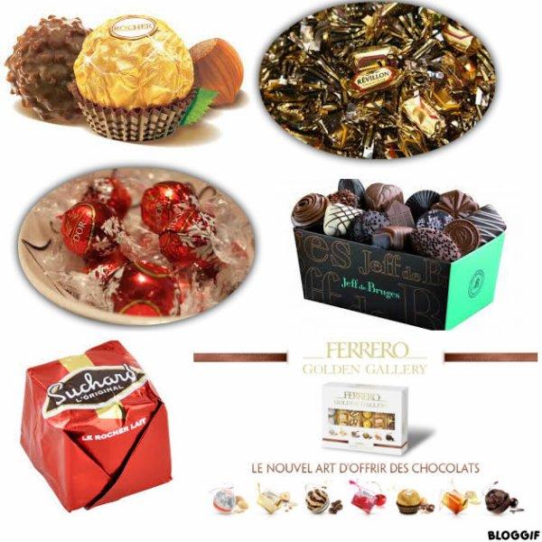 Noël et ses chocolats