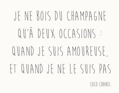 2 citations de  … Coco Chanel